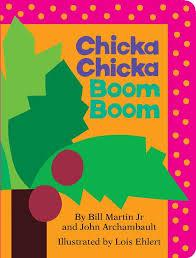 chicka chicka boom boom board book 9781442450707