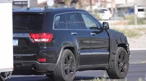 cherokee jeep srt8 jeep grand cherokee srt8 spied