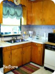 Remodeling Kitchen Cabinets On A Budget Before After 1950 S Kitchen Remodel On A 15k Budget Houzz