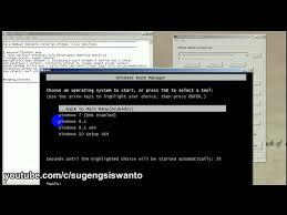 cara membuat bootable xp pada flashdisk how to make multiboot installer windows 7 8 10 cara membuat
