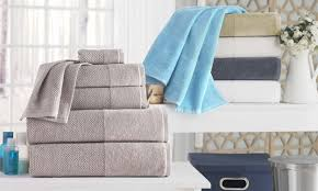 Bathroom Towel Display Ideas by Get The Scoop On Bath Sheets Vs Bath Towels Overstock Com
