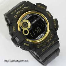 Jam Tangan G Shock jam tangan g shock g 9300mudman warna hitam emas jam tangan g