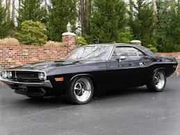1970 dodge challenger matte black dodge challenger on 24s car insurance info