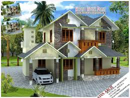 slope house plans village house plans designs house plans