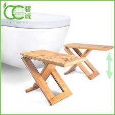 bamboo portable u0026 foldable potty step stools folding and