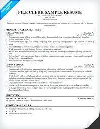 sample resume for payroll assistant data entry clerk resume sample
