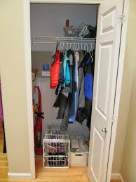everyday organizing a clean er coat closet