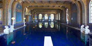 pools at hearst castle visit california