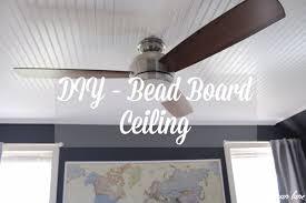 diy beadboard ceiling lader blog