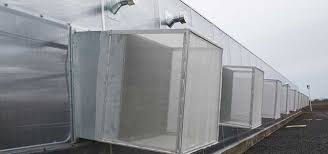 greenhouse exhaust fans with thermostat ventilation systems gothic arch greenhouses