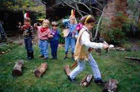 outdoor party games for kids