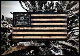 Whiskey Flag Jack Daniels Jack Daniels Flag Wooden Jack Daniels Sign Whiskey