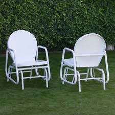 coral coast retro vintage outdoor glider chair walmart com