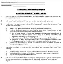 Non Disclosure Statement Template by Sle Confidentiality Agreement Non Disclosure Agreement