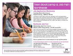 teen job fair mpl
