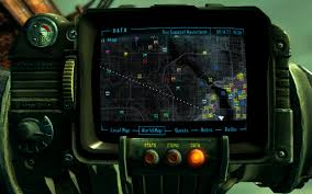 Fallout 3 Map by Colorful Pipboy Map Icons At Fallout3 Nexus Mods And Community