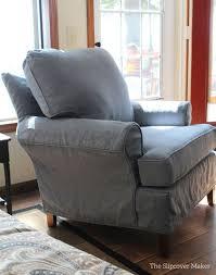 Linen Chair Slipcover Linen The Slipcover Maker