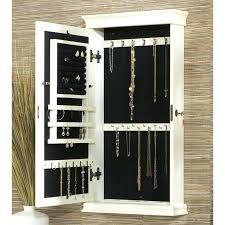 Wall Mirror Jewelry Armoire Wall Mount Jewelry Armoire U2013 Perfectgreenlawn Com
