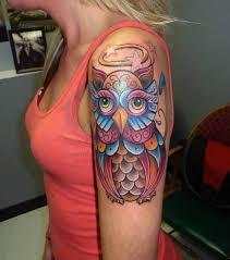 51 owl tattoos on arm