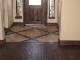 Different Design Of Floor Tiles Setting The Entryway Different From The Rest Of The Floor But
