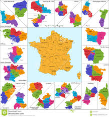 French Map France Map Stock Image Image 32187761