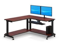 L Computer Desk Corner Computer Desks Corner Workstation Afcindustries