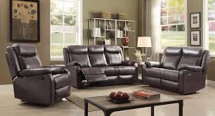 Reclining Living Room Set G760 Reclining Living Room Set Dark Brown Glory Furniture
