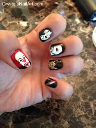 halloween inspired nail art fun nail art pinterest fun
