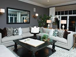 Accent Walls In Living Room by Skillful Grey Living Room Walls Nice Ideas Orange And Gray Living