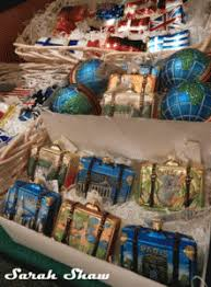 suitcase and travel ornaments at bronner s frankenmuth