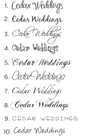 wedding invitations font cedar weddings wedding invitations wedding announcements