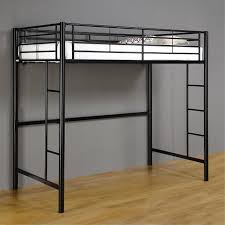 Metal Frame Loft Bed With Desk Building Twin Loft Bed Frame Twin Bed Inspirations