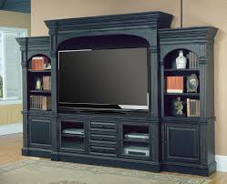 Built In Wall Units For Living Rooms by Black Wall Entertainment Center Venezia 77