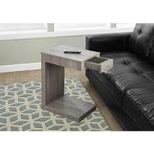 sofa c table beaded round wood c table kirklands
