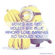 minions love bananas minions bananas