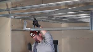 Suspended Drywall Ceiling by Fastest Suspended Drywall Light Coves Youtube