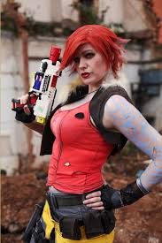 borderlands halloween costume chrix design lilith from borderlands 2 cosplay