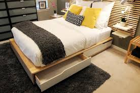 indulging malm bed frame storage for malm bed frame storage boxes