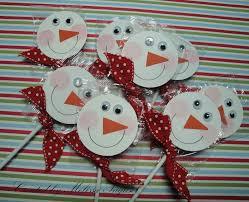 snowman suckers holidays christmas treats pinterest suckers