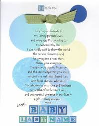 thank you baby shower cards the 25 best baby shower thank you ideas on baby