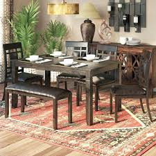 dining room sets for 6 dining table set with bench amarillobrewing co
