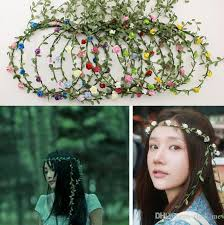 flower hair band flower band summer seaside flowers hair band bohemian