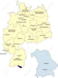 Bavaria Germany Map by Map Of Germany National Boundaries And National Capitals State