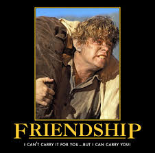 Frodo Meme - sam and frodo much love to my dear wifey who for so long has been