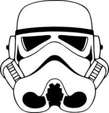 stormtrooper helmet stencil outline pictures body art