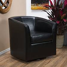 Swivel Club Chairs For Living Room Great Deal Furniture Corley Leather Swivel Club