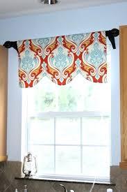 kitchen valance curtains modern kitchen window valance retro