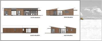 Shed Roof House Two Pavilion With Extra Unit And Shed Roof Salmond Architecture