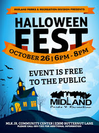 city park halloween midland tx official website