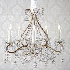 Simple Chandelier Ashwell Shabby Chic Couture Simple 5 Light Chandelier